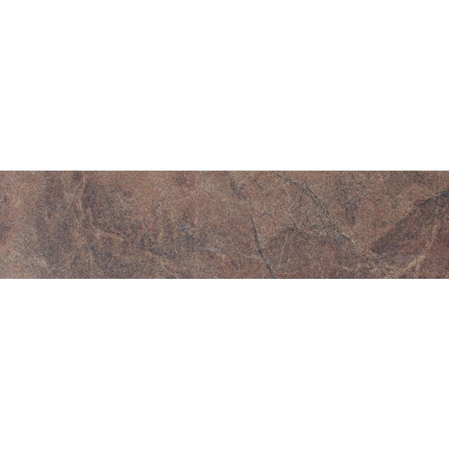 FLOORS 2000 Oriente Topazio Porcelain Bullnose Tile (Common: 3-in x 18-in; Actual: 3-in x 17.75-in)
