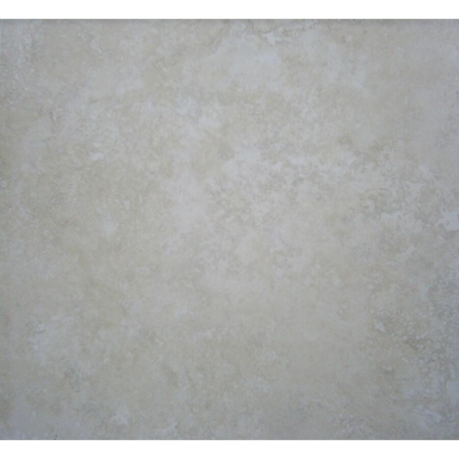 FLOORS 2000 12-Pack Arbe Blanco Ceramic Floor Tile (Common: 16-in x 16-in; Actual: 16.07-in x 16.07-in)