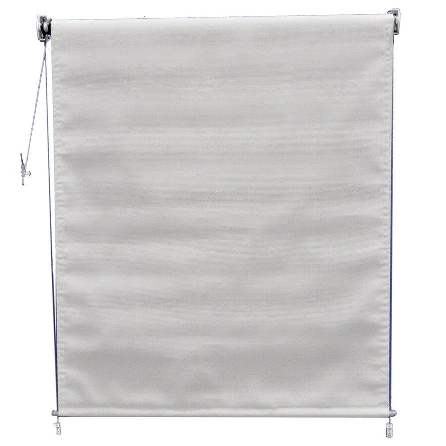 Americana Building Products 36-in W x 60-in L Textilene Linen Light Filtering Exterior Shade