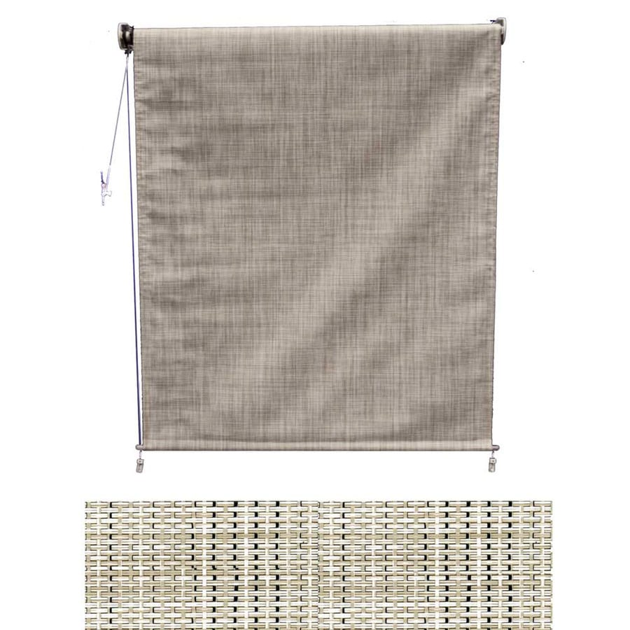 Americana Building Products 36-in W x 36-in L Textilene Birch Tweed Light Filtering Exterior Shade
