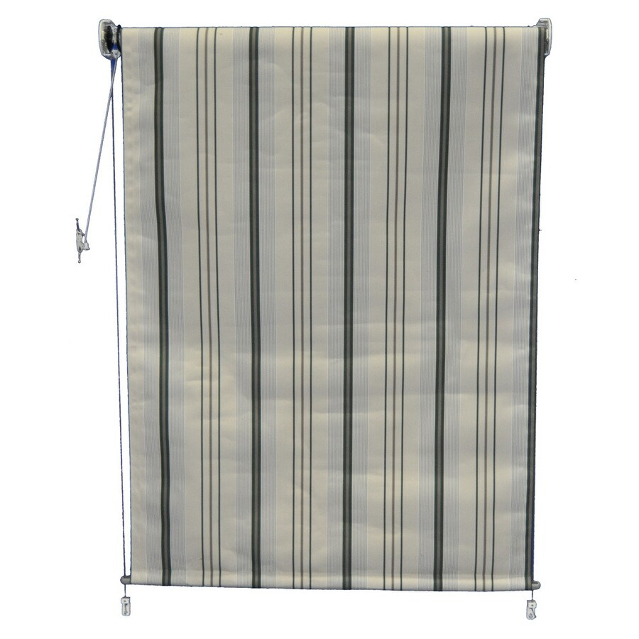Americana Building Products Forest Green Transitional Room Darkening Woven Acrylic Exterior Shade (Common 96-in; Actual: 96-in x 48-in)