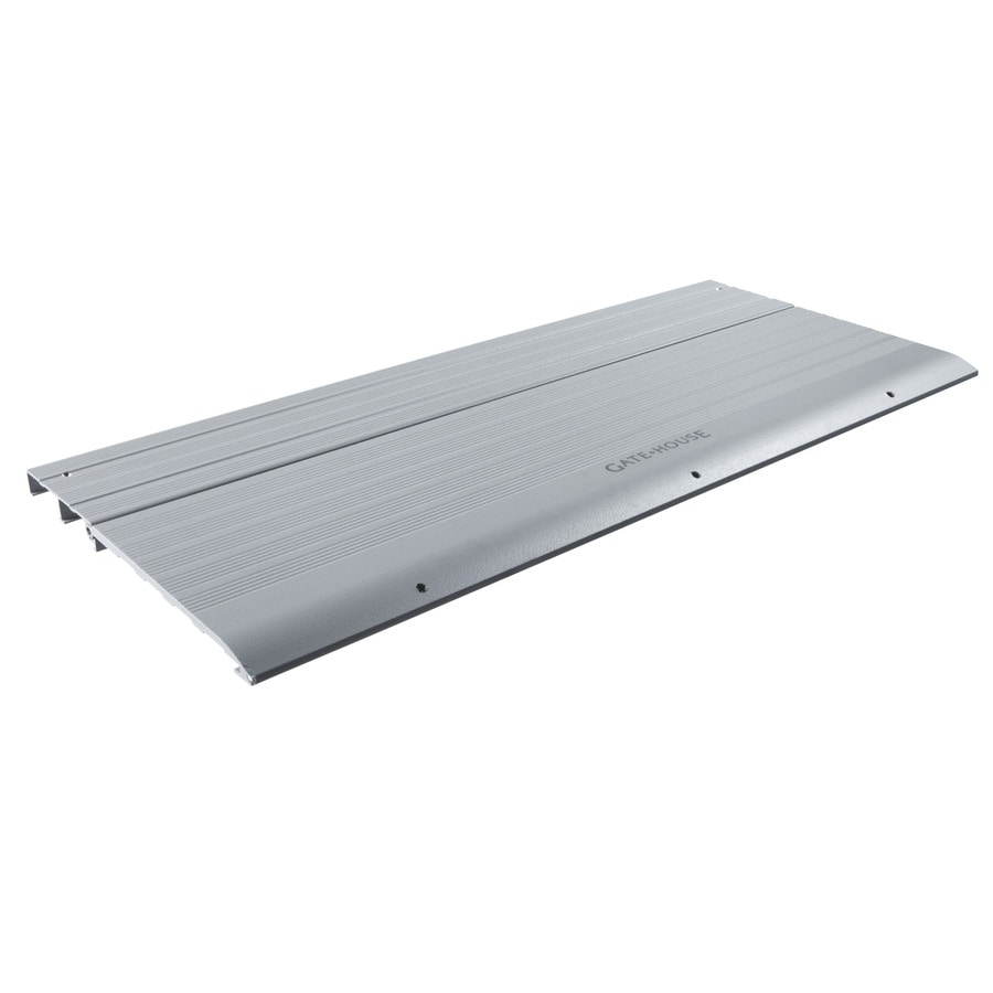 Gatehouse 36-in H x 15-in W Aluminum Wheelchair Ramp Threshold Plate