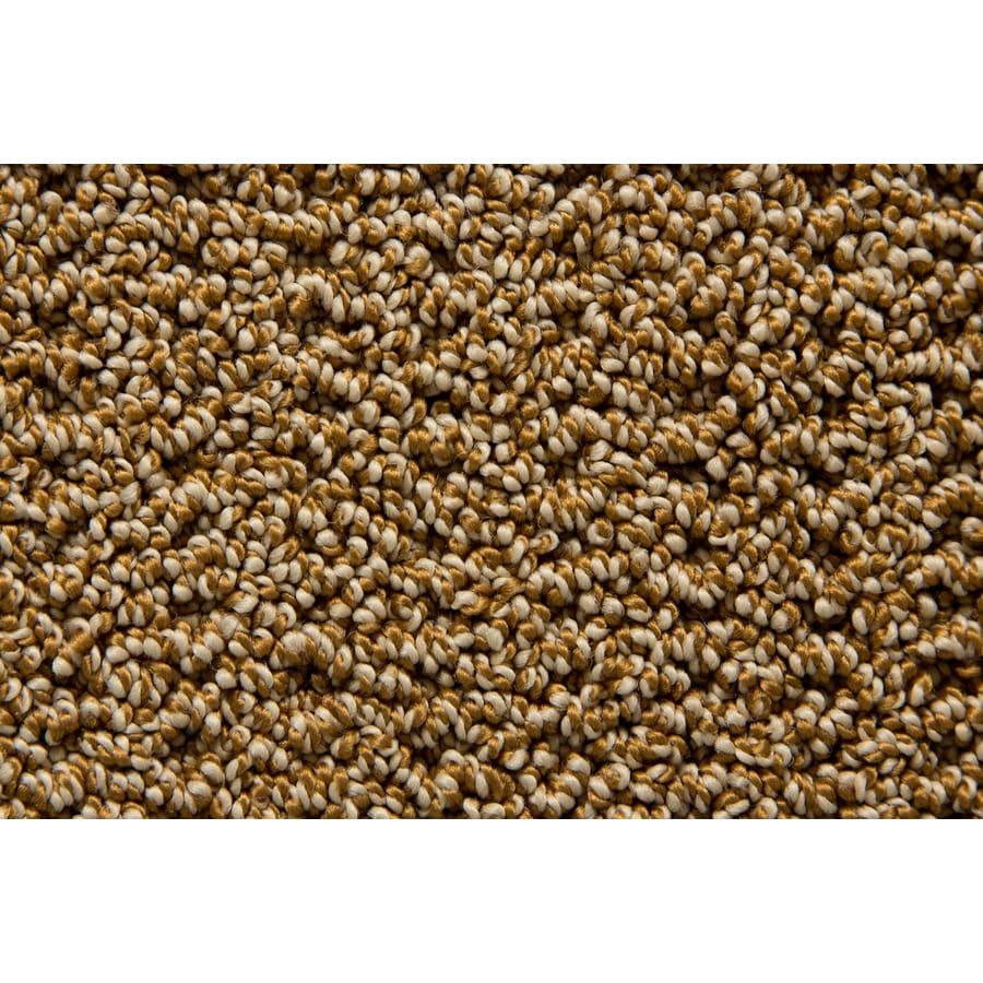 STAINMASTER TruSoft Merriment Woodbark Pattern Indoor Carpet