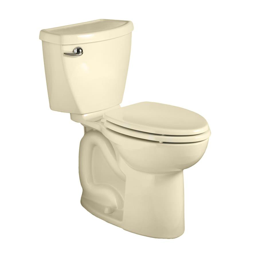 American Standard Cadet 3 Bone 1.6-GPF (6.06-LPF) 12 Rough-In Round 2-Piece Chair Height Toilet