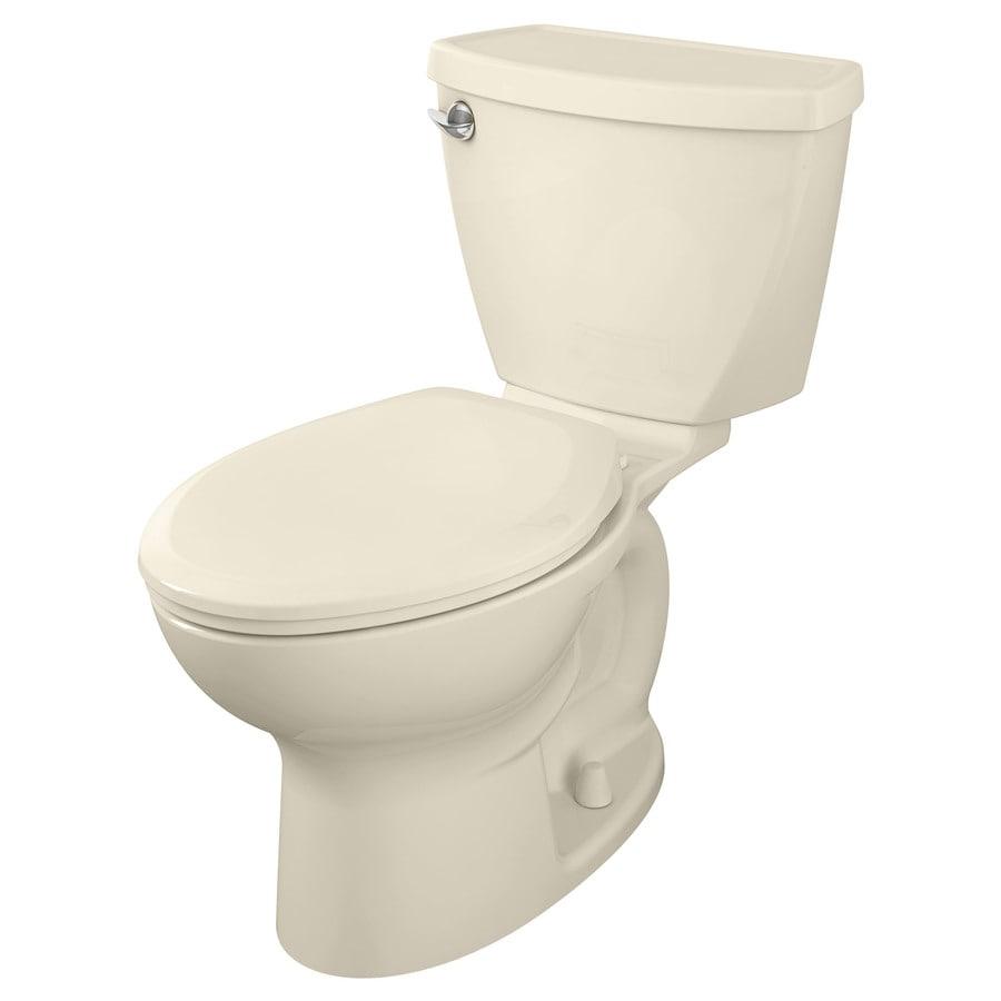 American Standard Cadet Linen 1.6-GPF (6.06-LPF) 12 Rough-In Elongated 2-Piece Standard Height Toilet