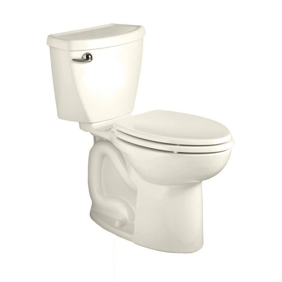 American Standard Cadet 3 Linen 1.28-GPF (4.85-LPF) 12 Rough-In WaterSense Elongated 2-Piece Standard Height Toilet