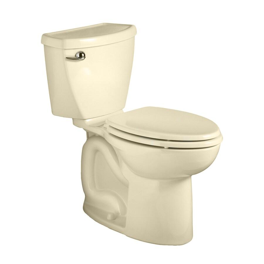 American Standard Cadet 3 Bone 1.6-GPF (6.06-LPF) 10 Rough-In Elongated 2-Piece Chair Height Toilet
