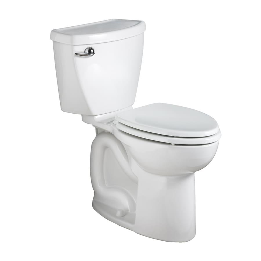 American Standard Cadet 3 White 1.28-GPF (4.85-LPF) 10 Rough-In WaterSense Round 2-Piece Chair Height Toilet