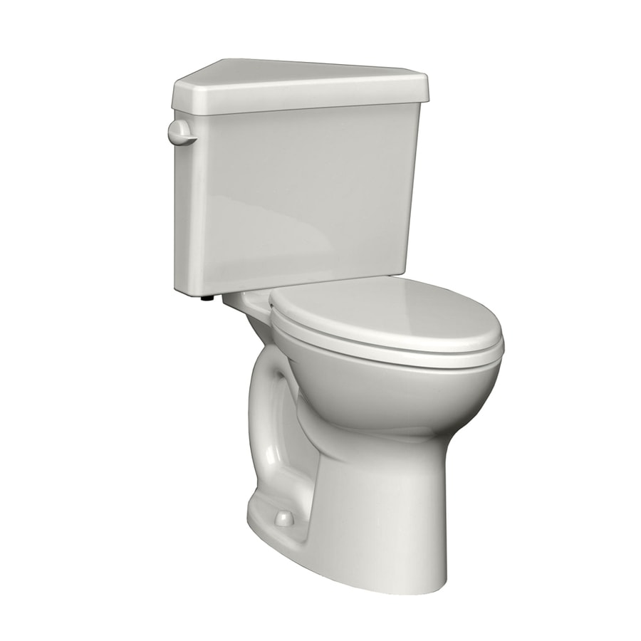 American Standard Cadet White 1.6-GPF (6.06-LPF) 12 Rough-In Round 2-Piece Chair Height Toilet