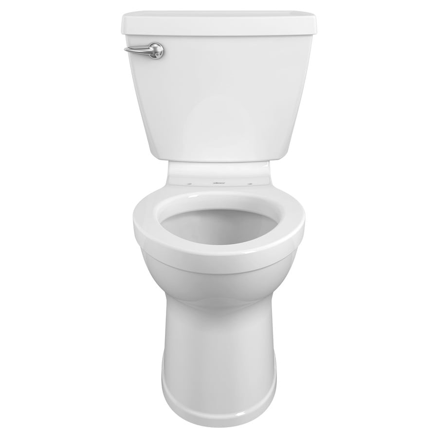 American Standard Champion 4 White 1.28-GPF (4.85-LPF) 12 Rough-In WaterSense Elongated 2-Piece Chair Height Toilet