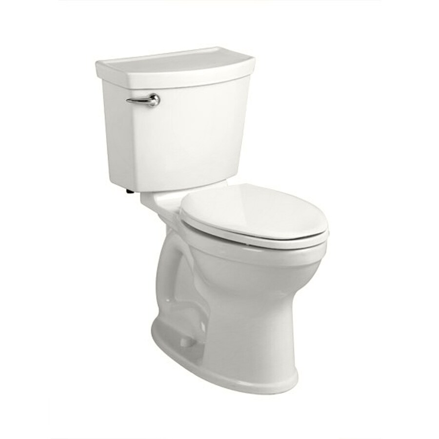 American Standard Champion 4 White 1.28-GPF (4.85-LPF) 12 Rough-In WaterSense Round 2-Piece Chair Height Toilet