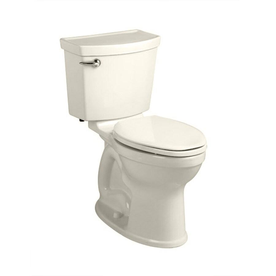 American Standard Champion 4 Linen 1.28-GPF (4.85-LPF) 12 Rough-In WaterSense Round 2-Piece Chair Height Toilet