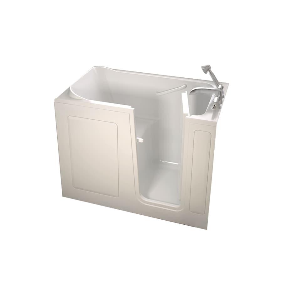 American Standard Walk-in Fiberglass Rectangular Walk-in Bathtub with Right-Hand Drain (Common: 28-in x 48-in; Actual: 37-in x 28-in x 48-in)