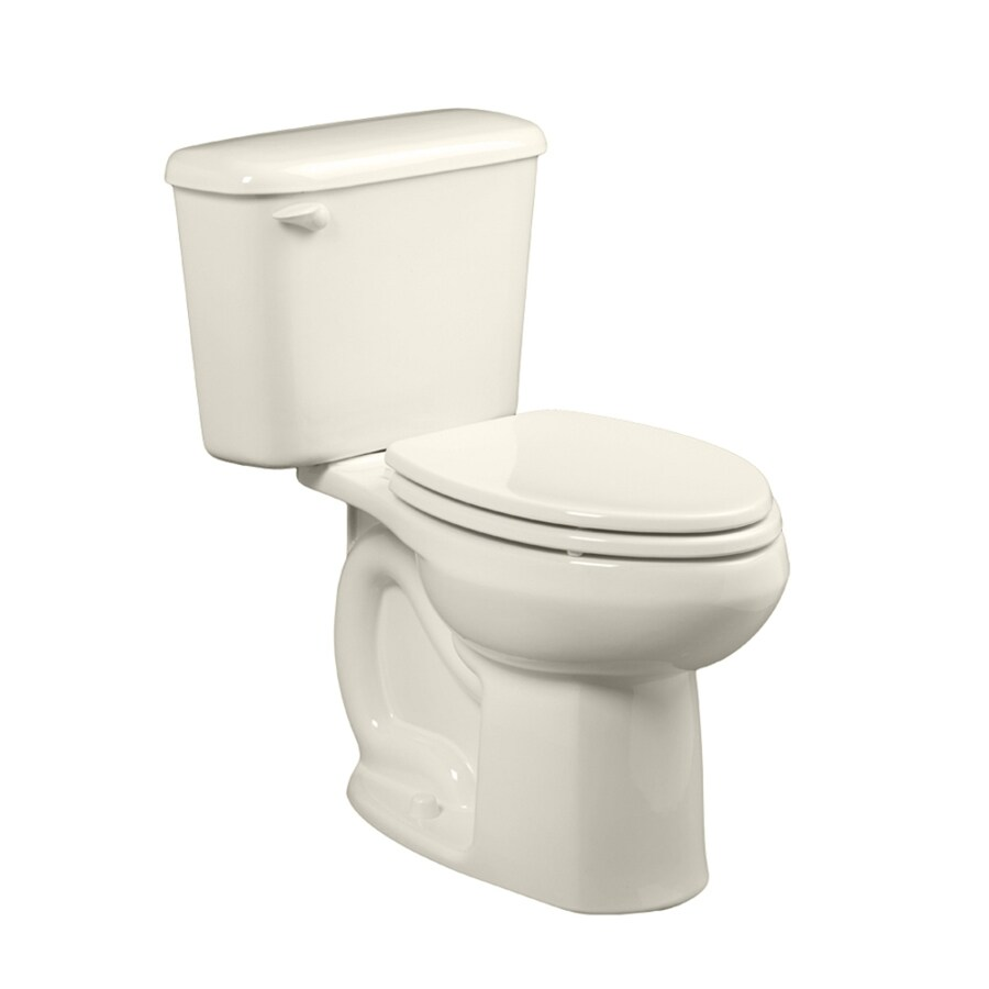 American Standard Colony Linen 1.6-GPF (6.06-LPF) 10 Rough-In Elongated 2-Piece Chair Height Toilet