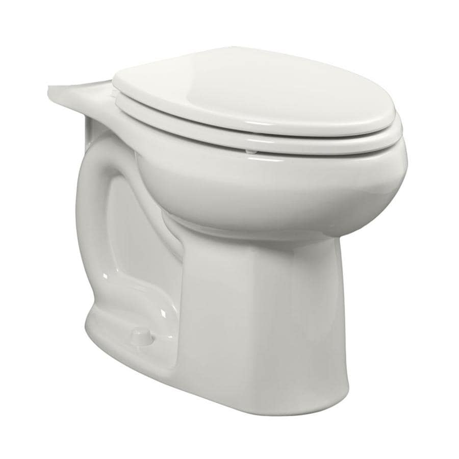 American Standard Colony Standard Height White 12-in Rough-In Elongated Toilet Bowl
