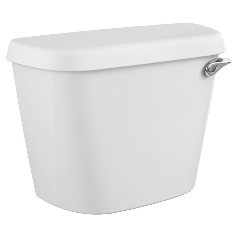 American Standard Colony White 1.28-GPF (4.85-LPF) 12-in Rough-In Single-Flush High-Efficiency Toilet Tank