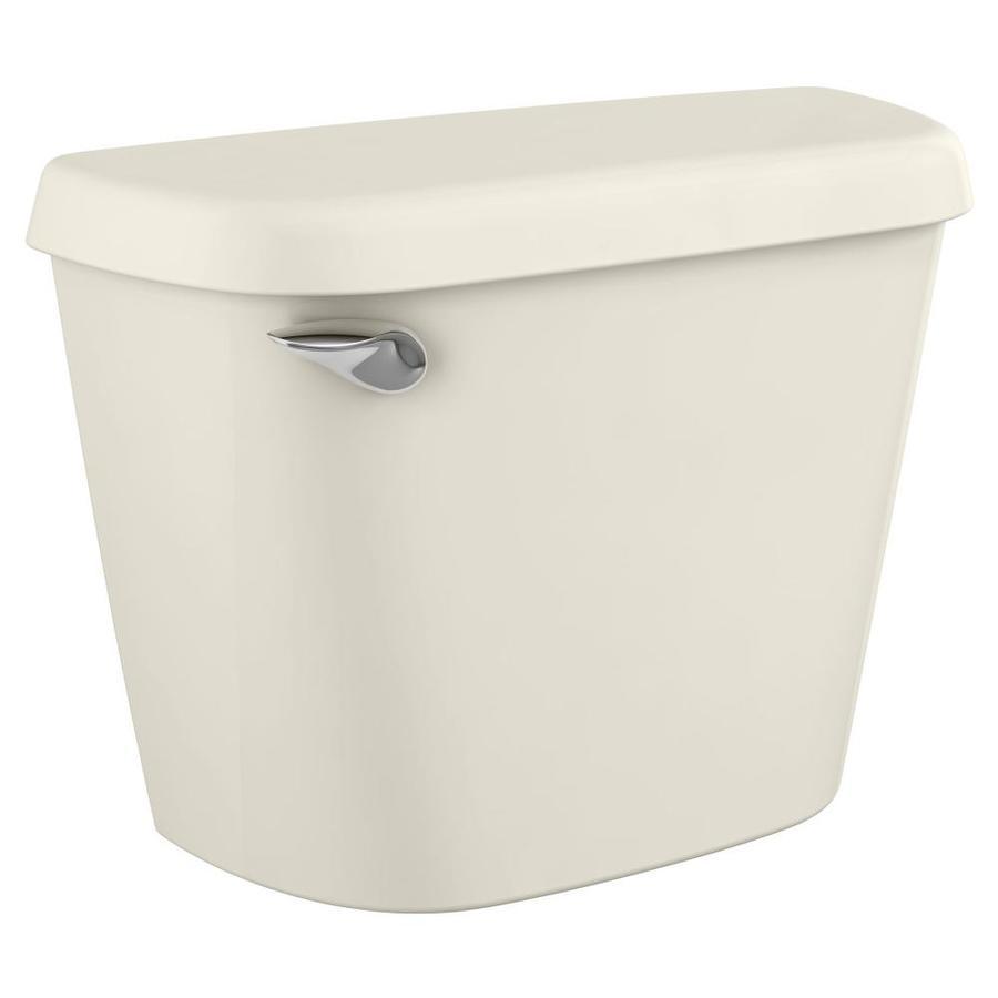 American Standard Colony Linen 1.28-GPF (4.85-LPF) 12-in Rough-In Single-Flush High-Efficiency Toilet Tank
