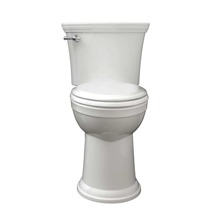 Esteem Vormax White 1.28-GPF (4.85-LPF) 12-in Rough-in WaterSense Elongated 2-Piece Comfort Height Toilet Product Photo