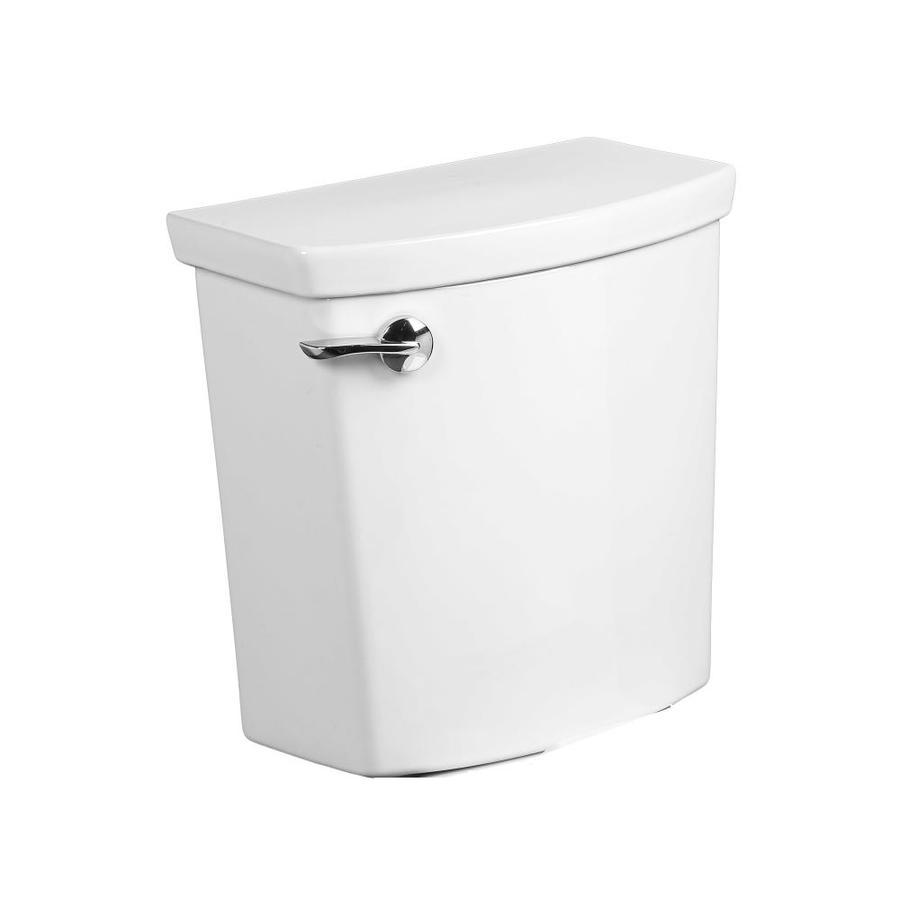 American Standard H2Optimum White 1.1-GPF (4.16-LPF) 12 Rough-In Single-Flush High-Efficiency Toilet Tank