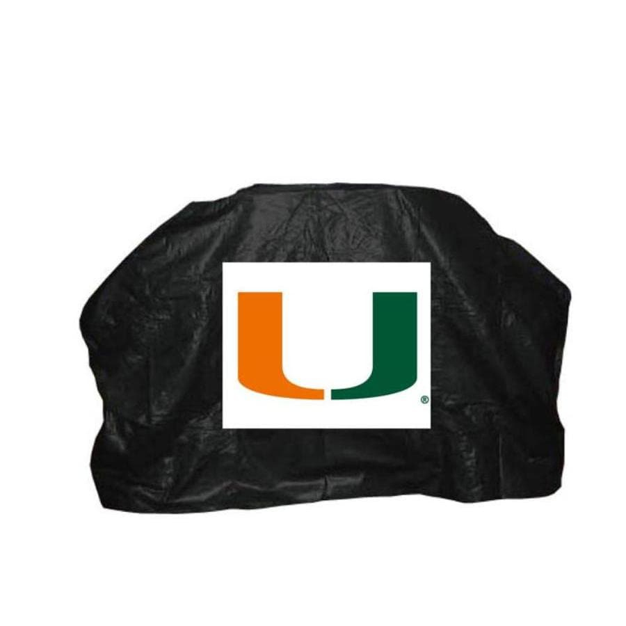 Seasonal Designs, Inc. Miami Hurricanes Vinyl 59-in Cover