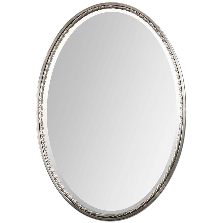 Creative Scents Quilted Mirror Bathroom Accessories Set