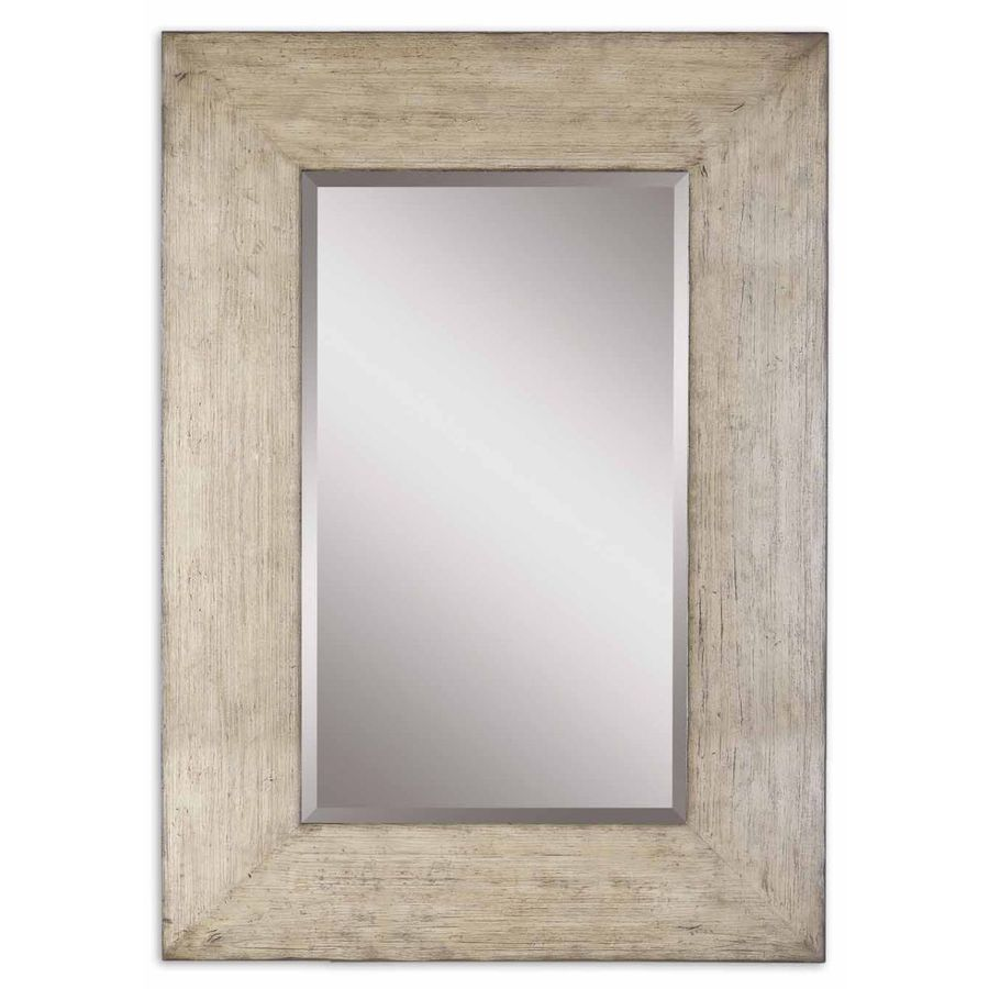 Shop global direct 50 5 in x 70 5 in natural beveled for Mirror 50 x 70