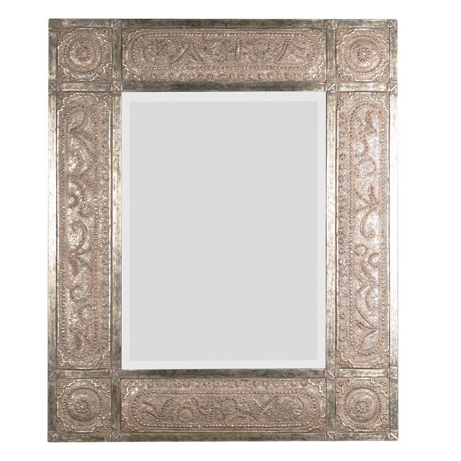 Shop global direct 50 in x 60 in heavily distressed golden for 60 inch framed mirror