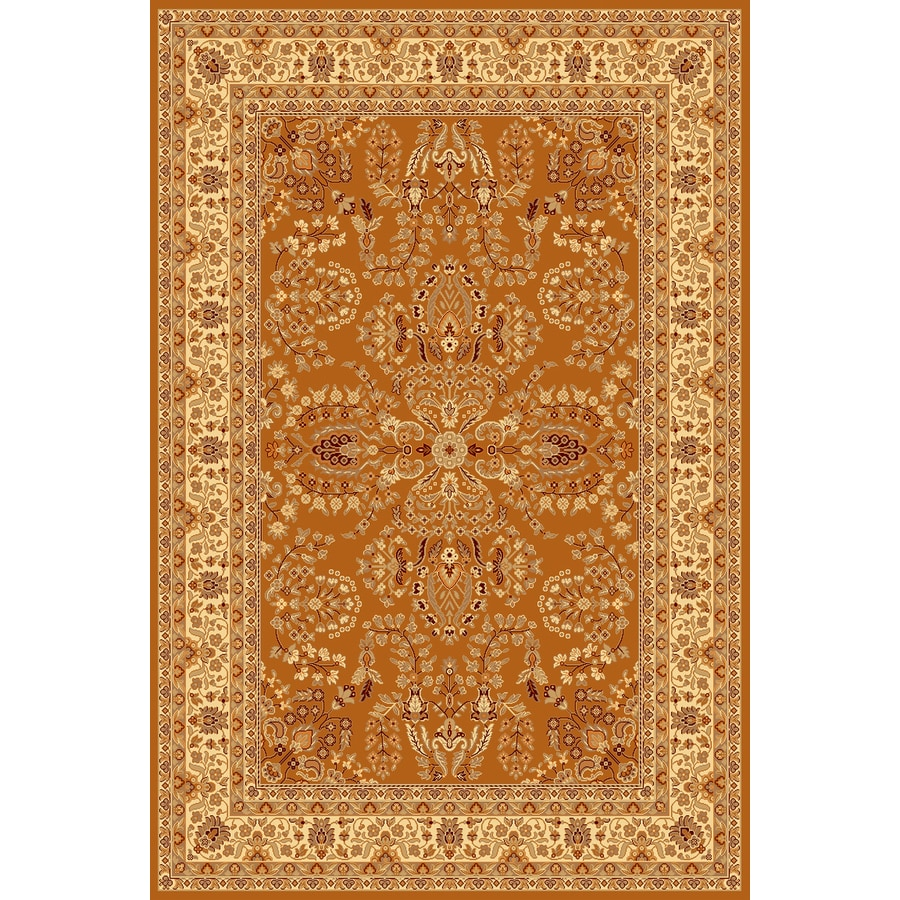 Shop Rugs America New Vision Lilihan Terra Cotta
