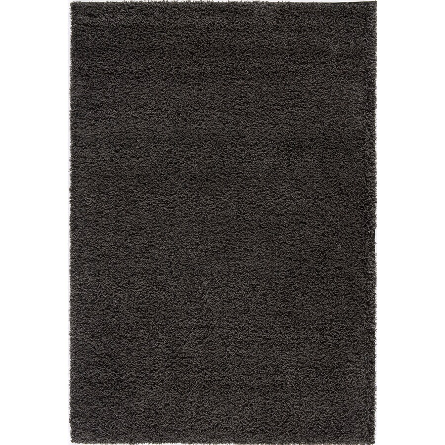 Rugs America Vero Beach Rectangular Black Solid Woven Area Rug (Common: 9-ft x 12-ft; Actual: 7.83-ft x 10.83-ft)