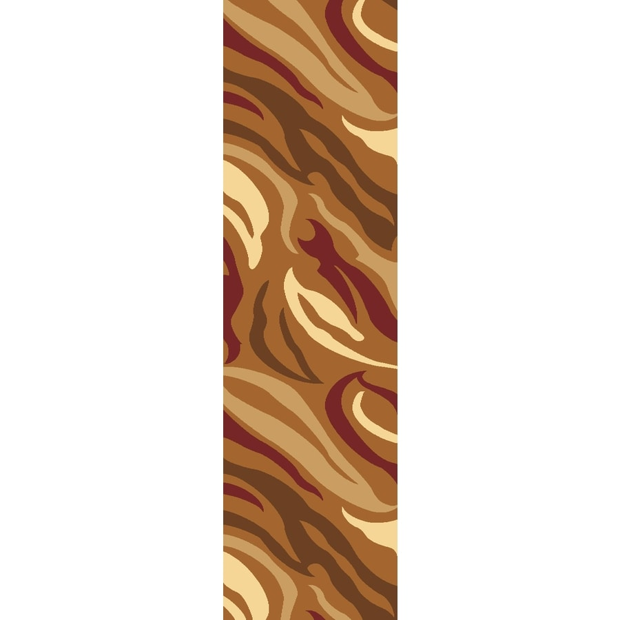 Rugs America Torino Jungle Beige Rectangular Indoor Woven Runner (Common: 2 x 8; Actual: 27-in W x 94-in L)