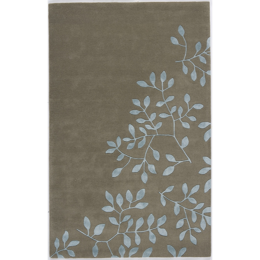 Rugs America Millennium Oxford Gray Rectangular Indoor Tufted Area Rug (Common: 7 x 9; Actual: 84-in W x 108-in L)