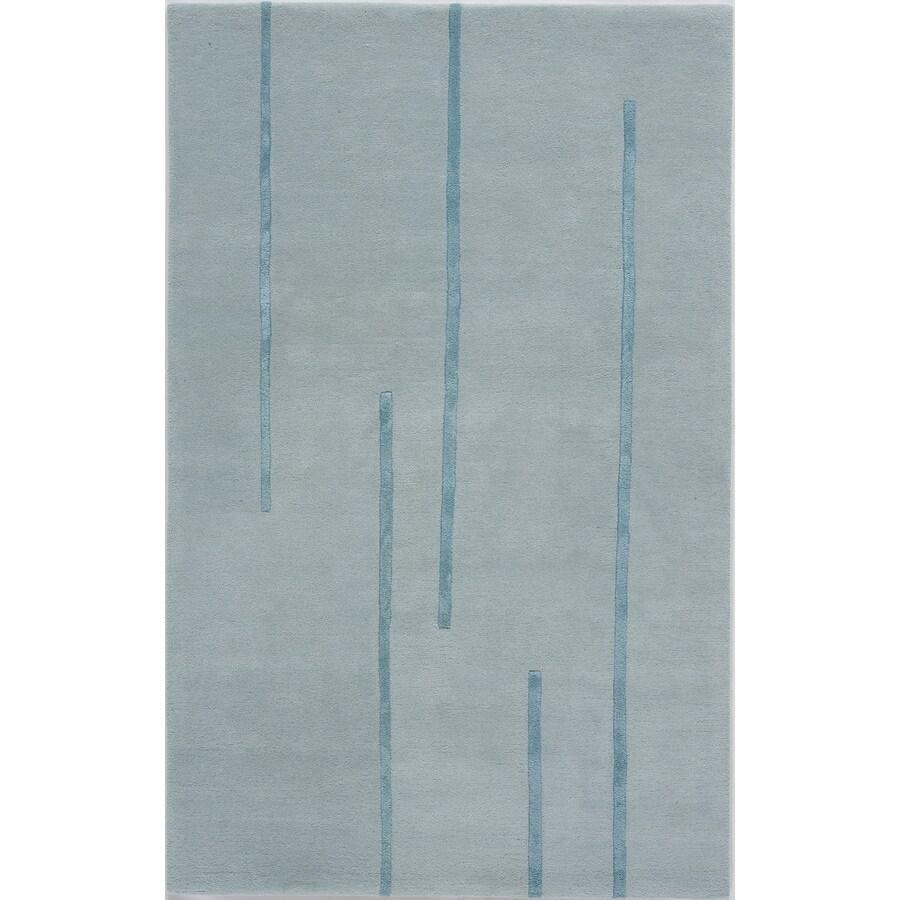 Rugs America Millennium Caribbean Mist Rectangular Indoor Tufted Area Rug (Common: 7 x 9; Actual: 84-in W x 108-in L)