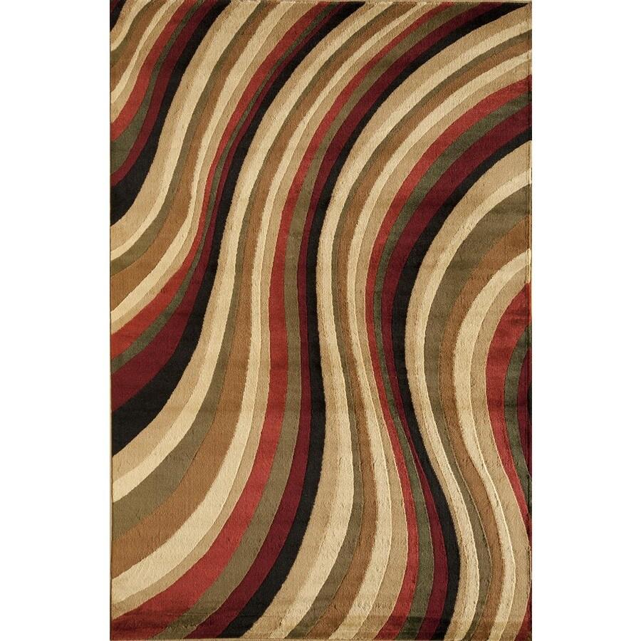 Rugs America Capri Soho Rectangular Indoor Woven Area Rug (Common: 5 x 8; Actual: 63-in W x 94-in L)
