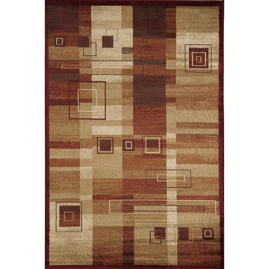 Rugs America Capri Geoffrey Rectangular Indoor Woven Area Rug (Common: 5 x 8; Actual: 63-in W x 94-in L)