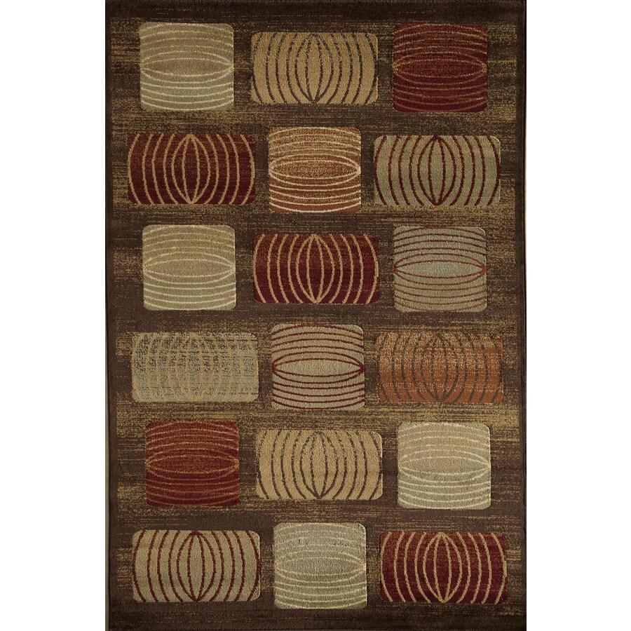 Rugs America Capri Wrangler Rectangular Indoor Woven Area Rug (Common: 8 x 11; Actual: 94-in W x 130-in L)