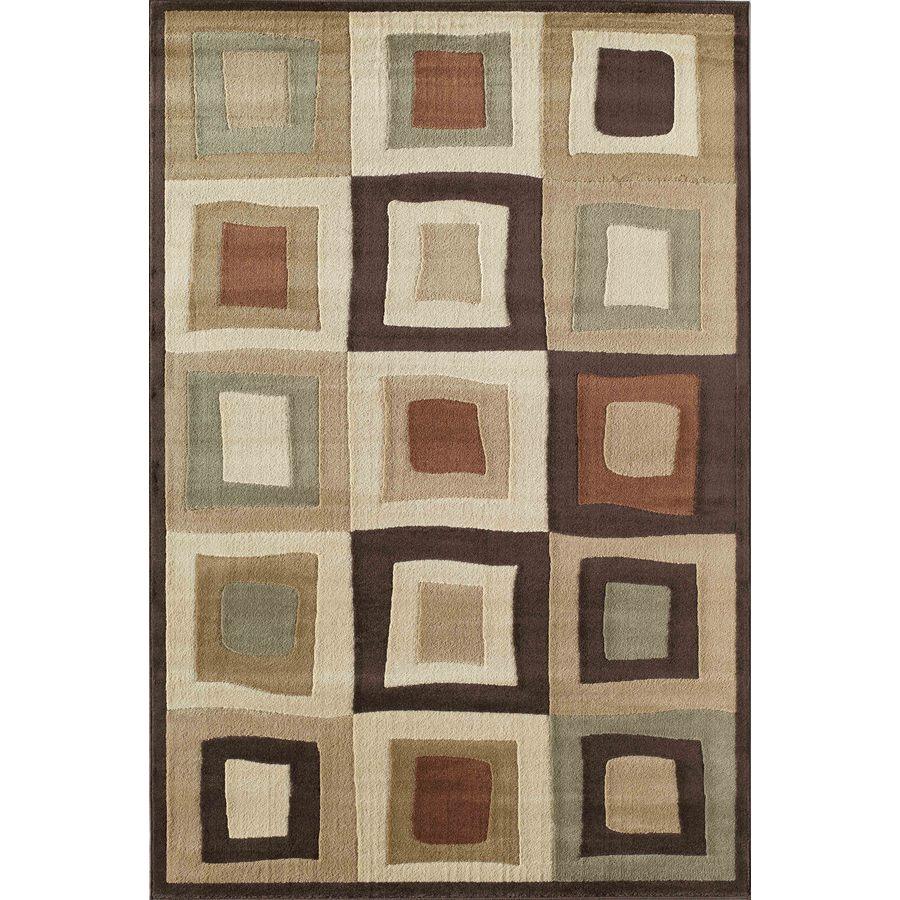 Rugs America Capri Equinox Rectangular Indoor Woven Area Rug (Common: 5 x 8; Actual: 63-in W x 94-in L)