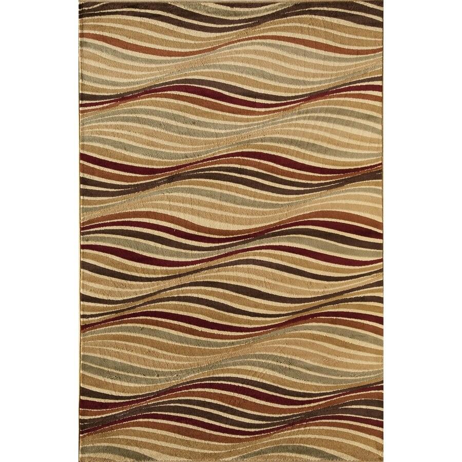 Rugs America Capri Blake Rectangular Indoor Woven Area Rug (Common: 5 x 8; Actual: 63-in W x 94-in L)