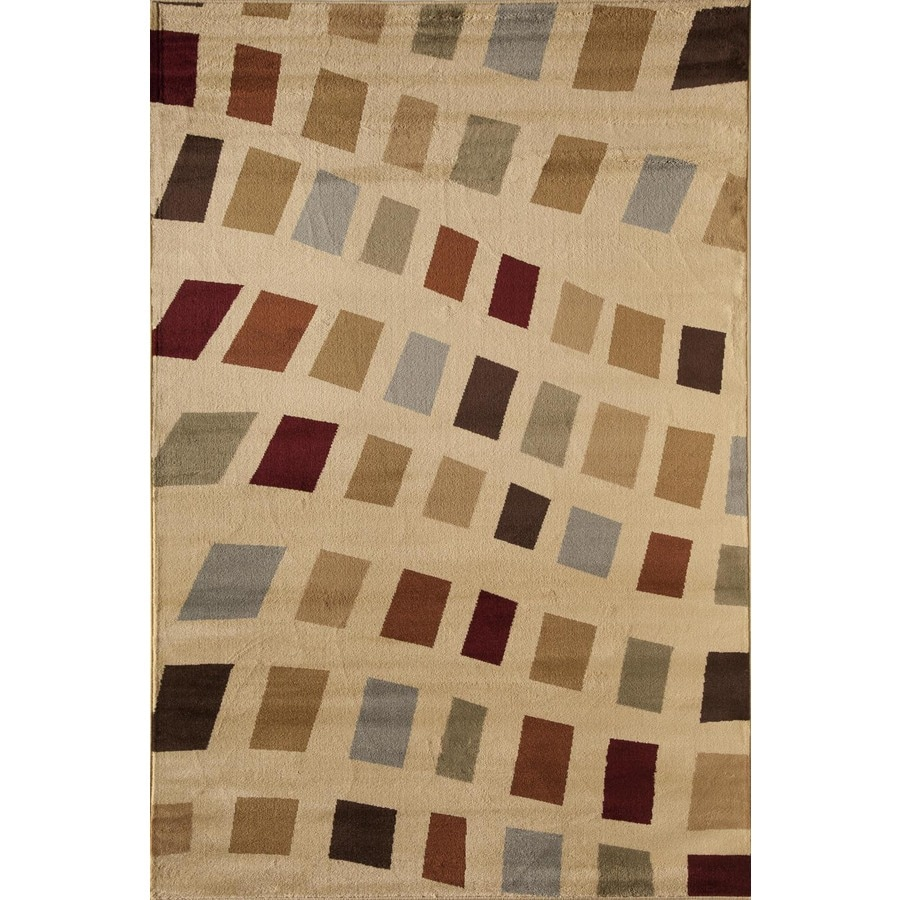 Rugs America Capri Holly Rectangular Indoor Woven Area Rug (Common: 8 x 11; Actual: 94-in W x 130-in L)