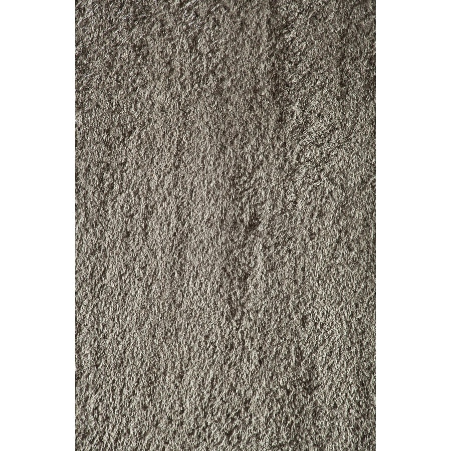 Rugs America Miami Gray Rectangular Indoor Woven Area Rug (Common: 8 x 11; Actual: 94-in W x 130-in L)