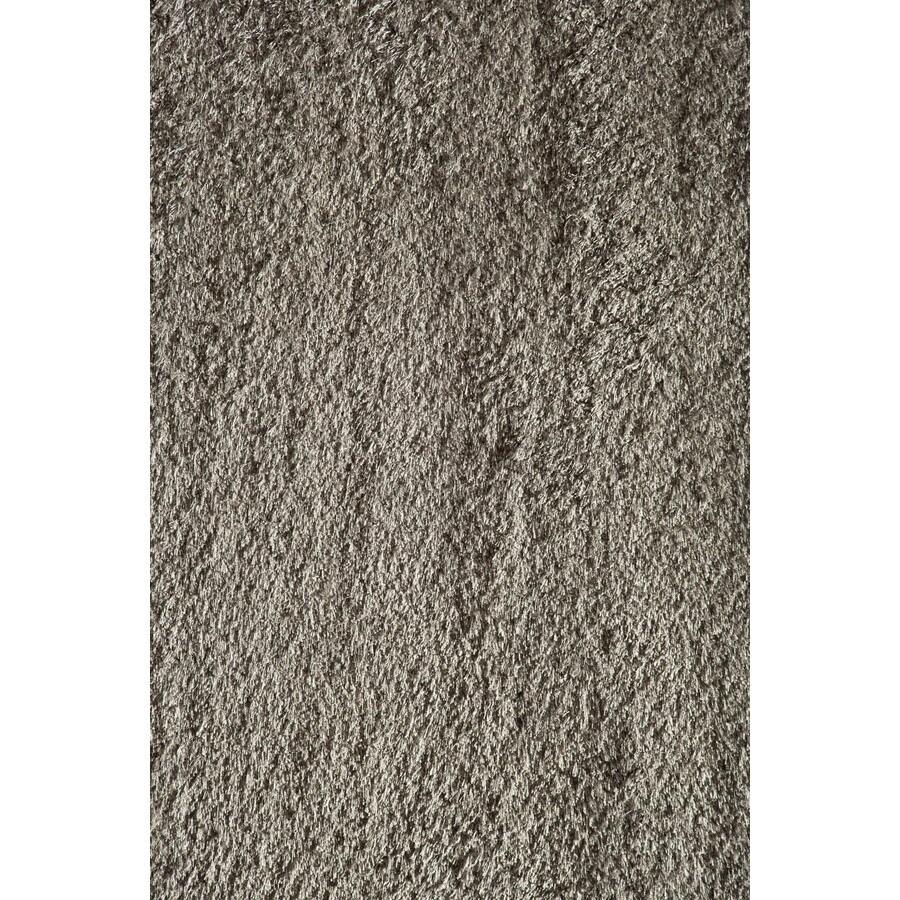Rugs America Miami Gray Rectangular Indoor Woven Area Rug (Common: 7 x 10; Actual: 79-in W x 114-in L)