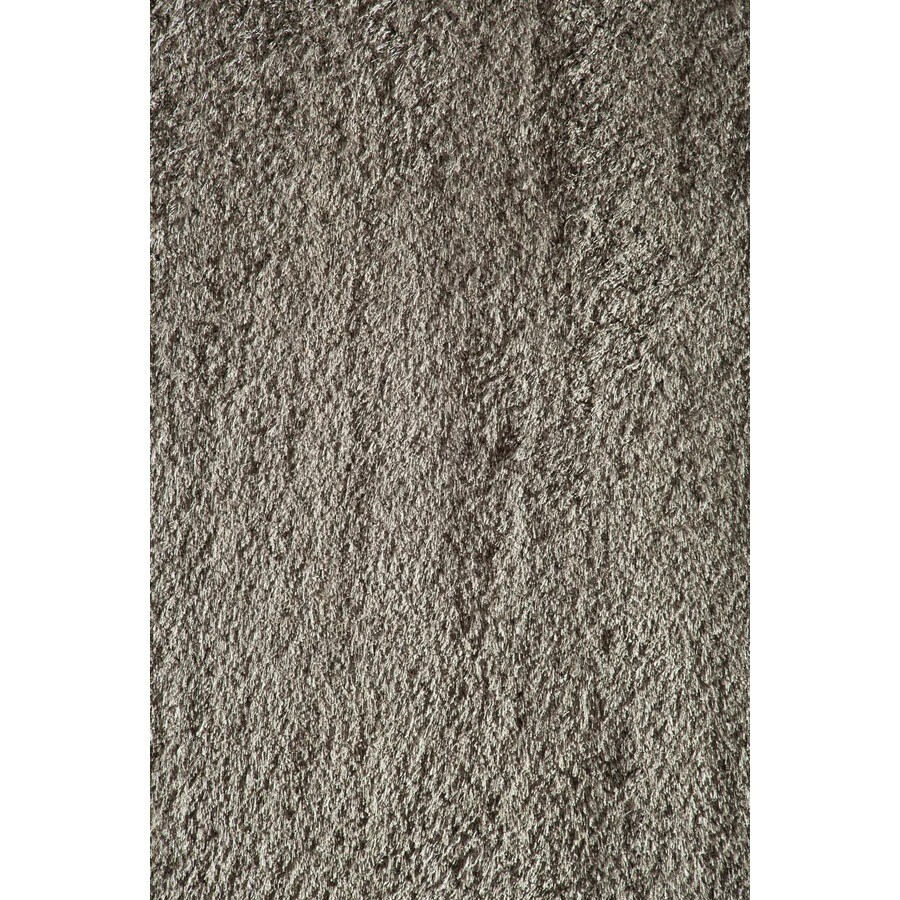 Rugs America Miami Gray Rectangular Indoor Woven Area Rug (Common: 5 x 8; Actual: 63-in W x 94-in L)