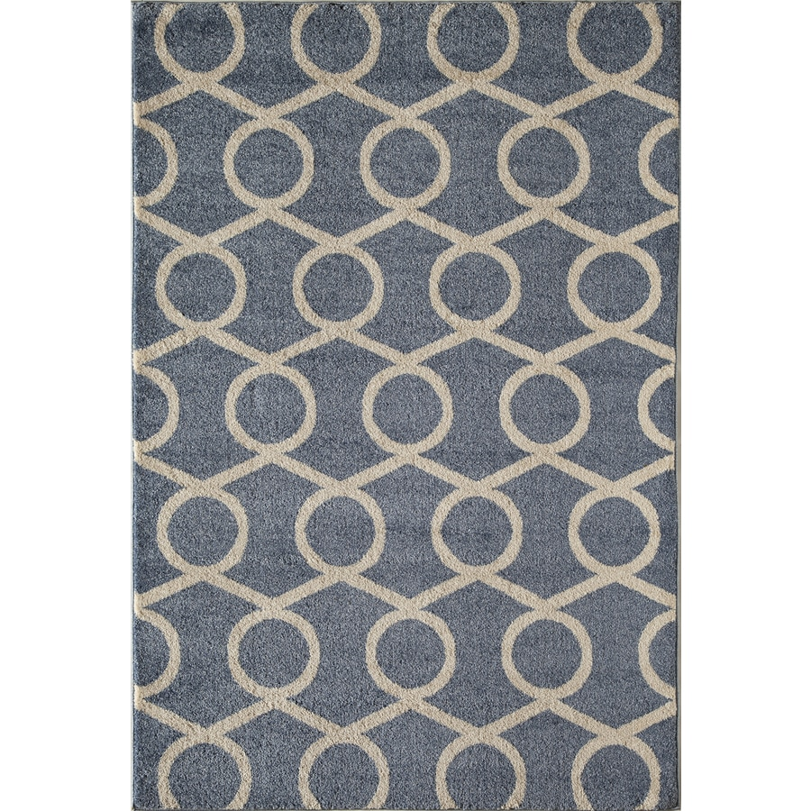Rugs America Hudson Rectangular Indoor Woven Throw Rug (Common: 2 x 3; Actual: 24-in W x 35-in L)