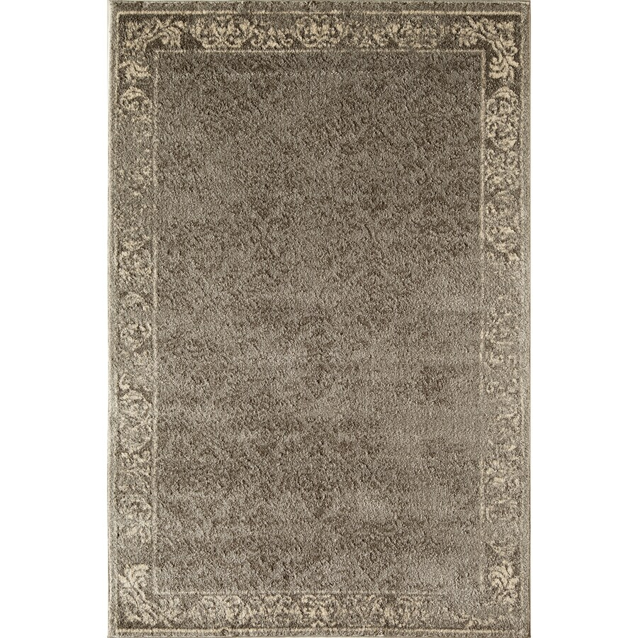 Rugs America Hudson Slate Vintage Rectangular Indoor Woven Area Rug (Common: 8 x 11; Actual: 94-in W x 130-in L)