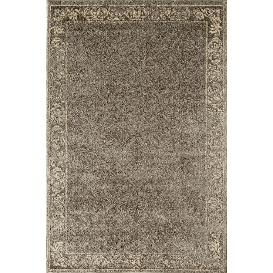 Rugs America Hudson Slate Vintage Rectangular Indoor Woven Area Rug (Common: 5 x 8; Actual: 63-in W x 94-in L)