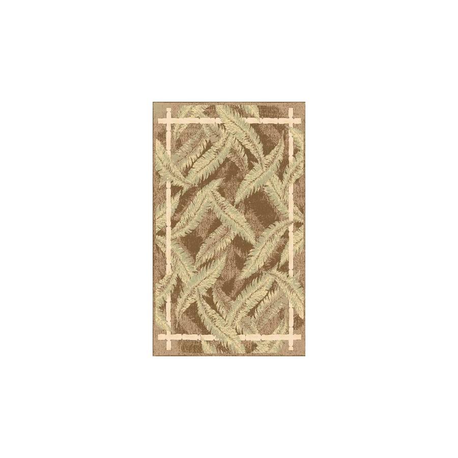 Rugs America Tropics Sunset Bay Rectangular Indoor Woven Area Rug (Common: 8 x 11; Actual: 94-in W x 130-in L)