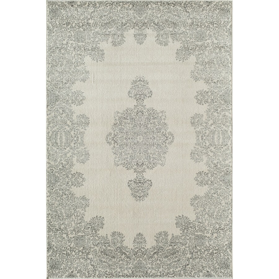 Rugs America Carmen Ash Rectangular Indoor Woven Throw Rug (Common: 2 x 3; Actual: 24-in W x 36-in L)