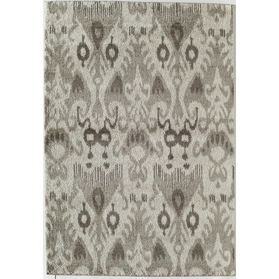 Rugs America Taza Taupe Rectangular Indoor Woven Throw Rug (Common: 2 x 3; Actual: 24-in W x 35-in L)