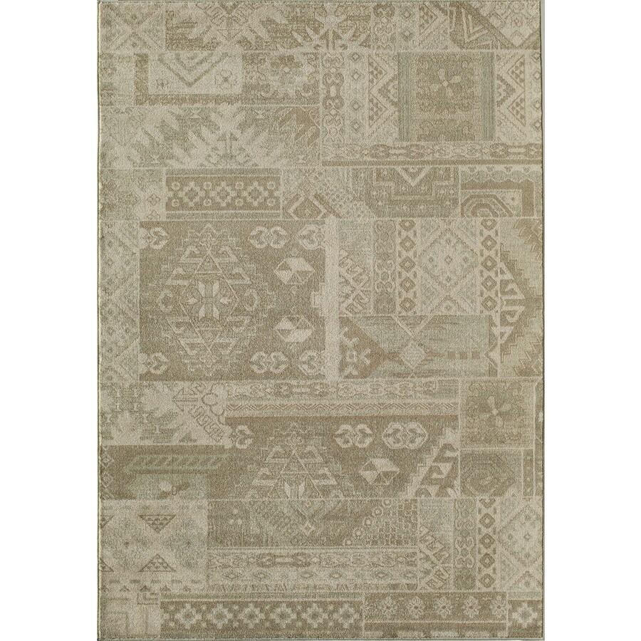 Rugs America Ziegler Patchwork Rectangular Indoor Woven Area Rug (Common: 10 x 13; Actual: 118-in W x 158-in L)