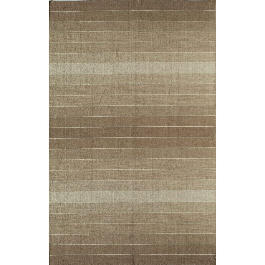 Rugs America Rio Desert Palm Rectangular Indoor Hand-Knotted Area Rug (Common: 8 x 10; Actual: 96-in W x 120-in L)