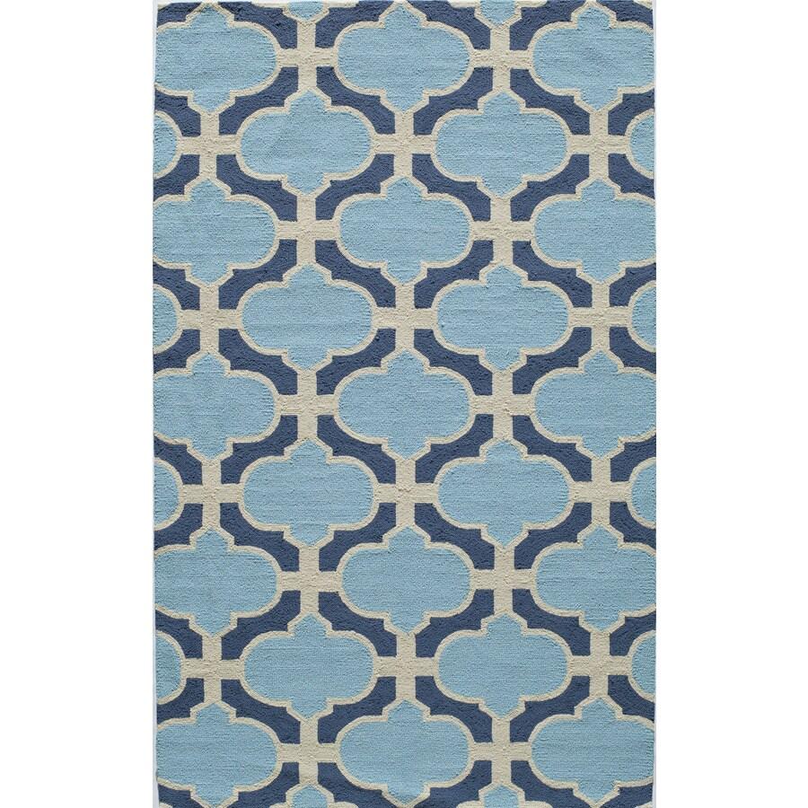 Rugs America Veranda Topaz Rectangular Indoor Tufted Area Rug (Common: 8 x 10; Actual: 96-in W x 120-in L)